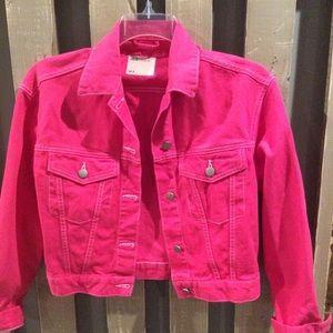 ASOS Pink Denim Jacket